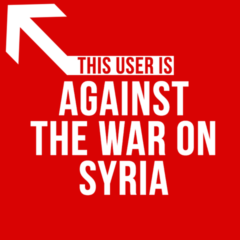 Against War in Syria